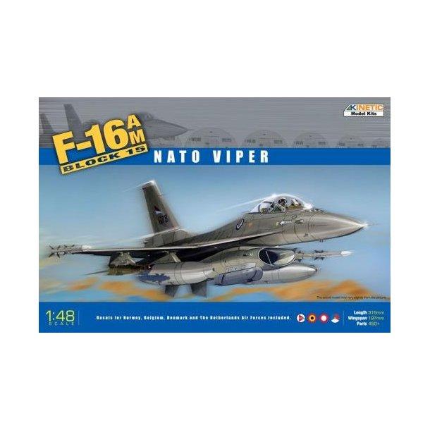 F-16 Block 15 (MLU) med danske decals
