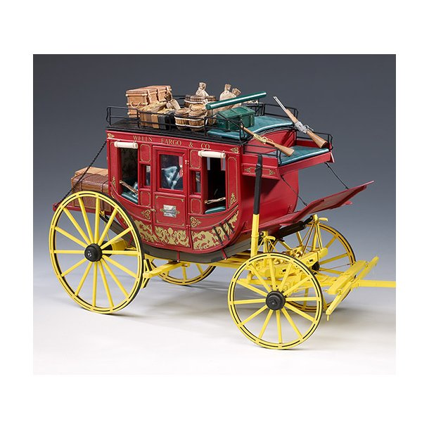 Wells Fargo Stage Coach, skala 1/10