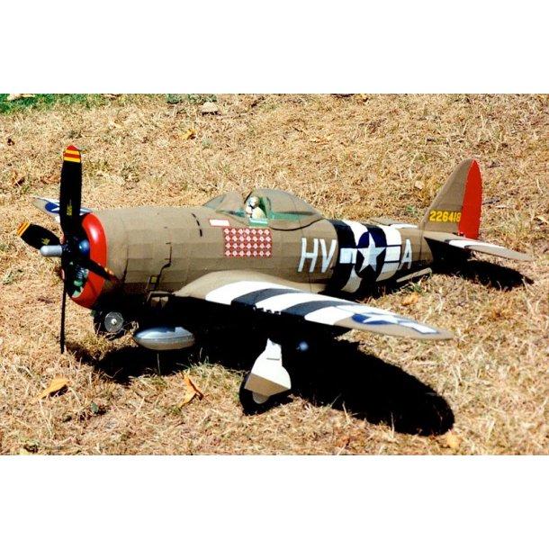 Republic P-47D Thunderbolt, skala 1/16