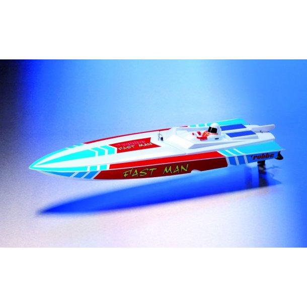 Fast Man speedbåd RTR med 2,4 GHz radioanlæg