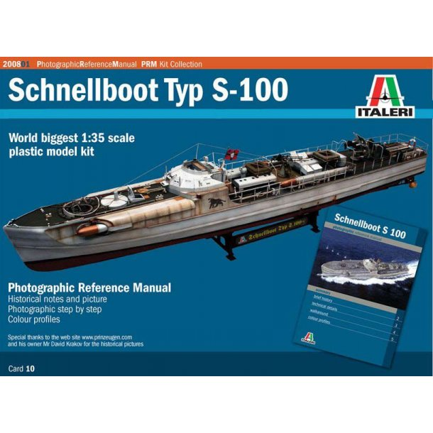Schnellboot S-100 PRM Edition, skala 1/35