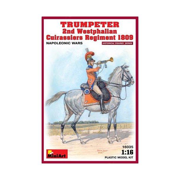 Trumpeter 2nd Westphalien Cuirassier 1809