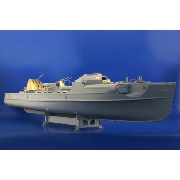 Fotoæts sæt 1 til Italeri S-100 Schnellboot