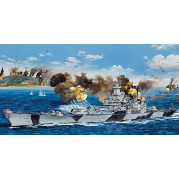 USS Iowa BB-61 - skala 1/200