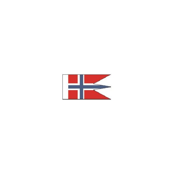 Norsk splitflag, størrelse B - 25 mm