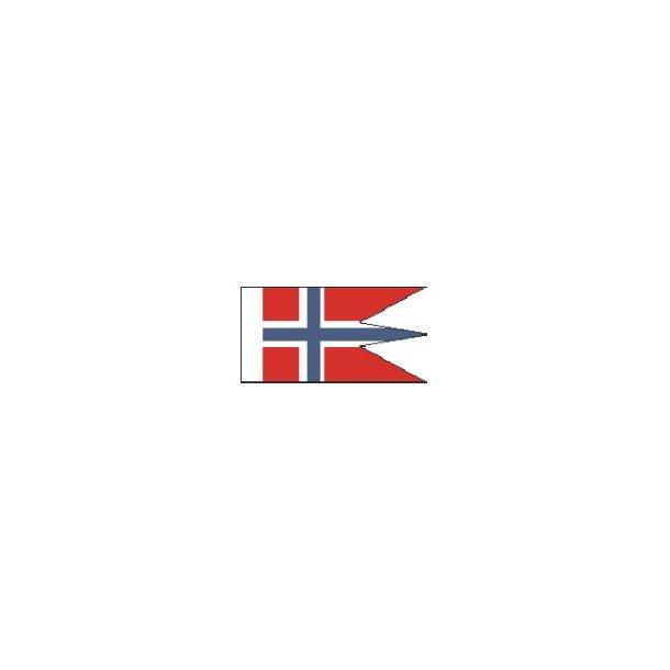 Norsk splitflag, størrelse G - 125 mm