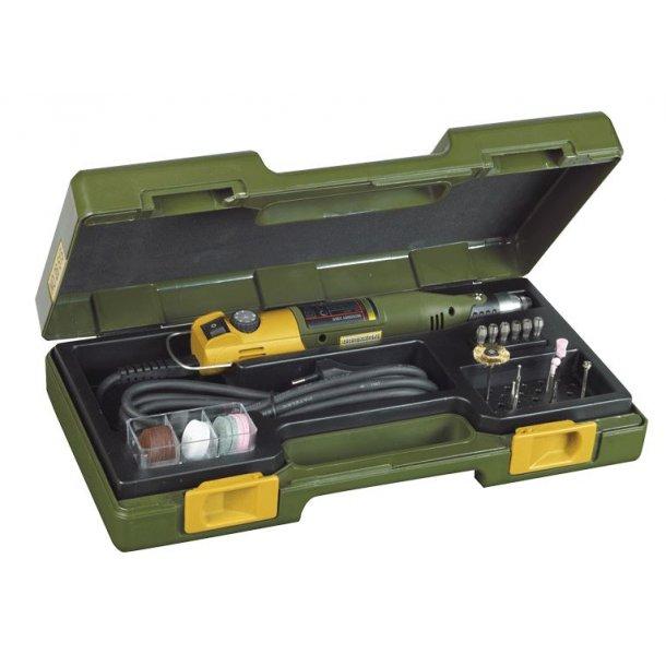Proxxon Bore- og fræsemaskine 230/E, 230 volt - sæt med tilbehør